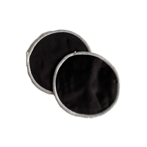 Washable Breast Pads- Black