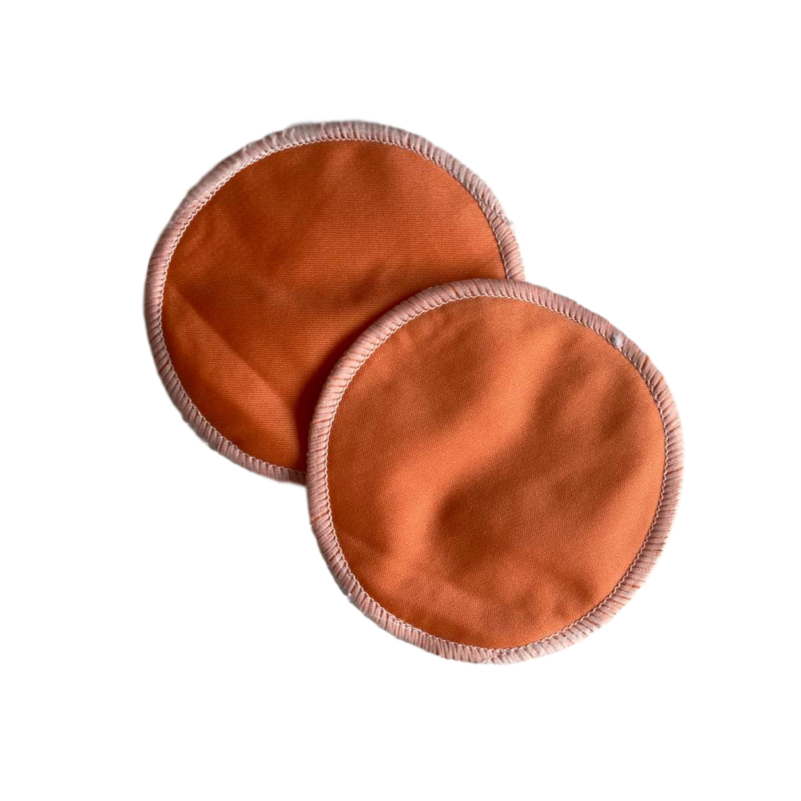 Washable Breast Pads- Orange