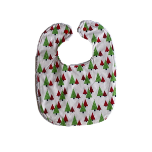 Christmas Bib- trees