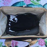 Backpack Nappy Bag- Black - My Sweet Little Trio