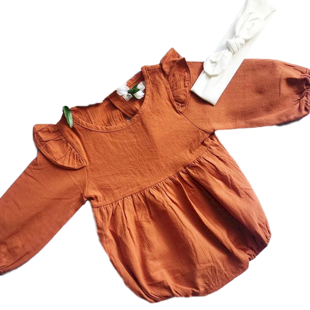Florence Romper- Rust
