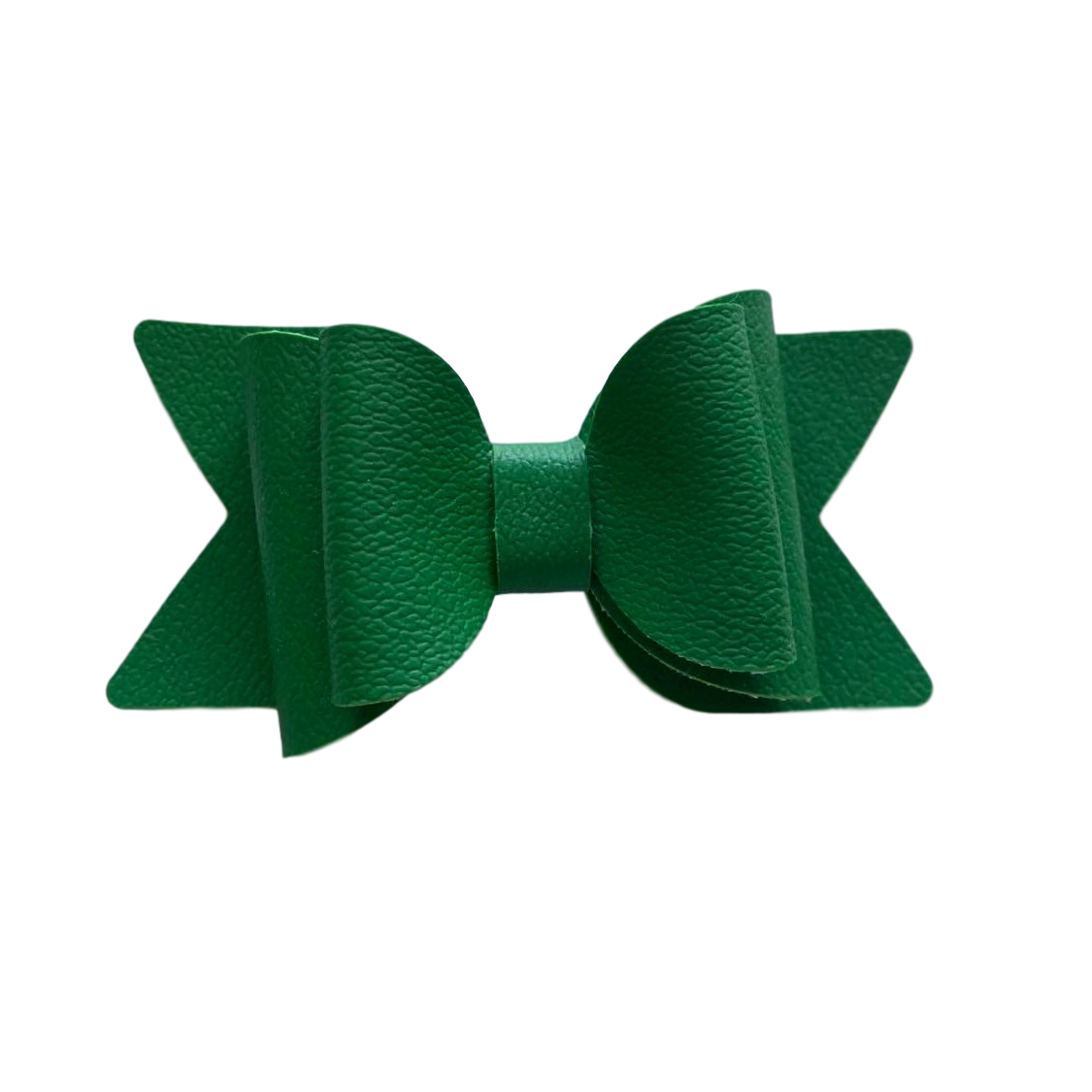 Large Green Bow Hair Clip