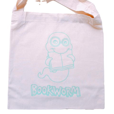 Library Bag- Bookworm
