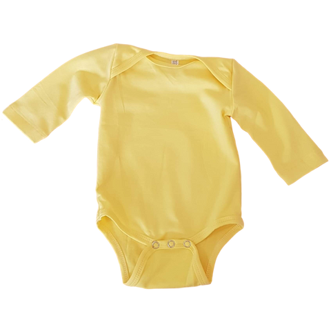 Longsleeve Bodysuit- Lemon