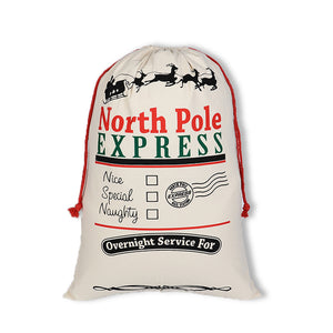 Santa Sack- North Pole Express