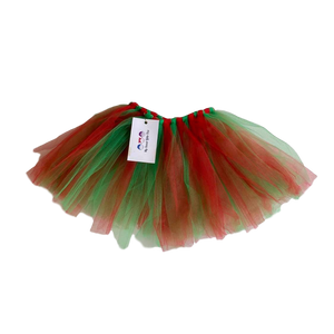 Red and Green Tutu