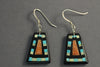 Georgia Sanchez Fine Mosaic Earrings Medium