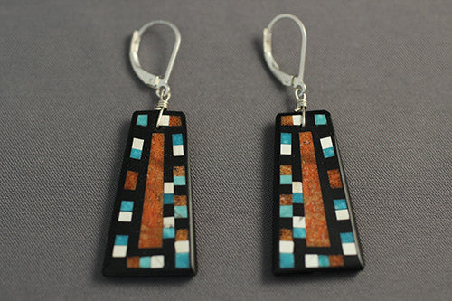 Georgia Sanchez Fine Mosaic Earrings Large