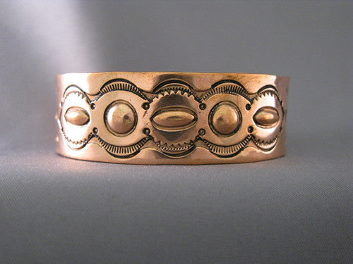 Ronnie Willie Small Copper Cuff