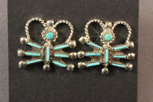 Zuni Butterfly Earrings