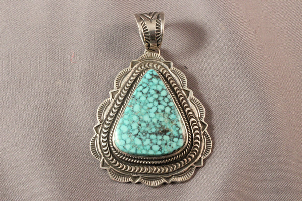 Large Kingman Spiderweb Pendant