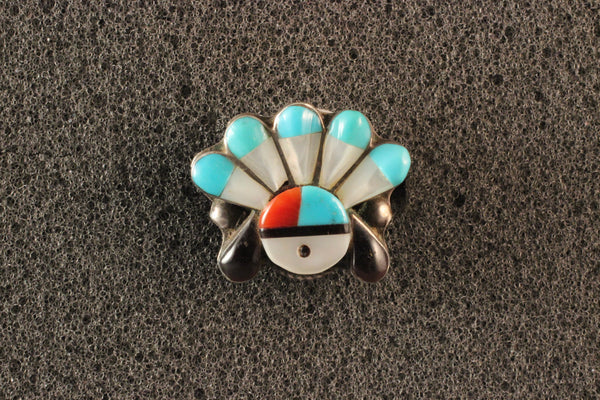 Zuni Headress Ring