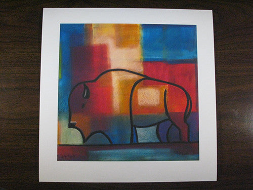 Colors of the New Buffalo, Giclee by Raymon Nordwall