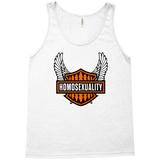 Flamin' Homosexual Tank (White)