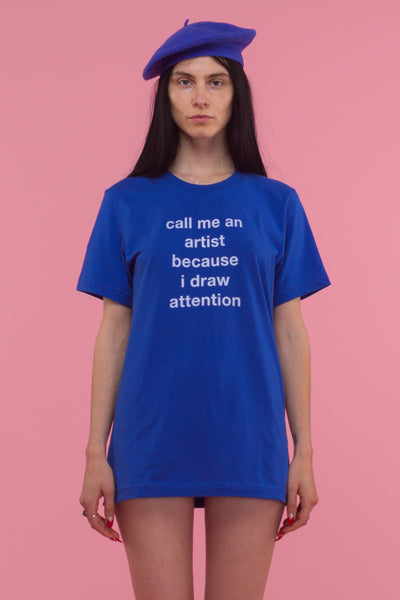 Draw Attention T-Shirt (Blue)
