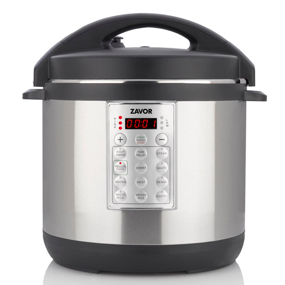 Zavor Select Electric Pressure Cooker, 6Qt, SS Parts