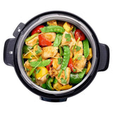 Multicooker Overhead Chicken with Vegetables