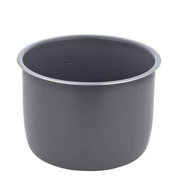 Removable Cooking Pot, 4Qt, Gray Ceramic Coating (ZSPSERP28)