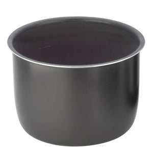 Removable Cooking Pot, 6Qt, Black Ceramic Coating (ZSPSERP26)