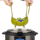 Silicone Steamer Basket with multicooker
