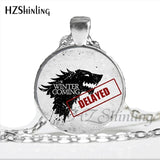 Game Of Thrones Keep Calm Winter Is Coming Necklaces 8 Styles to Choose From