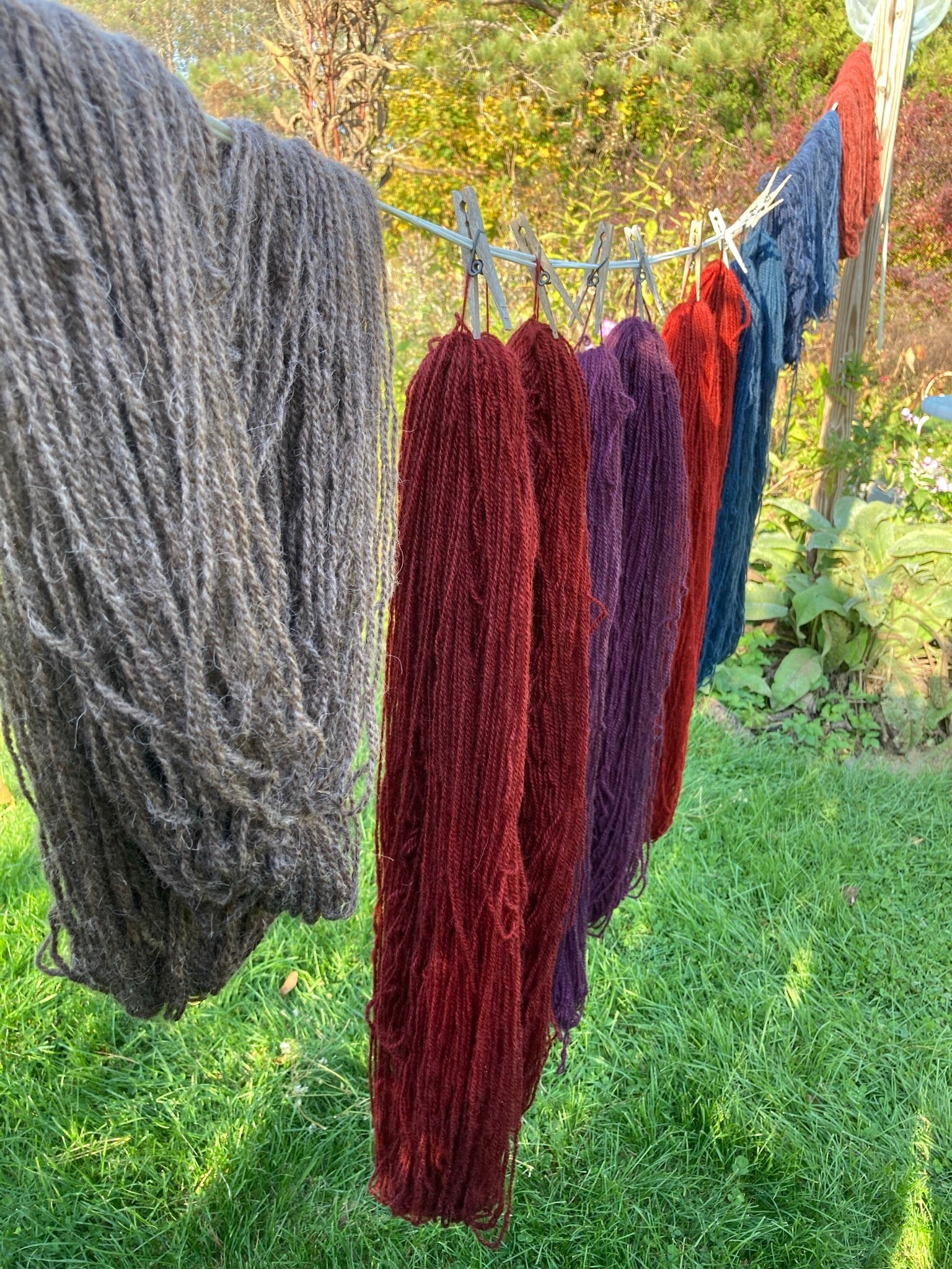 Down Home Maine Hand Dyed Yarn