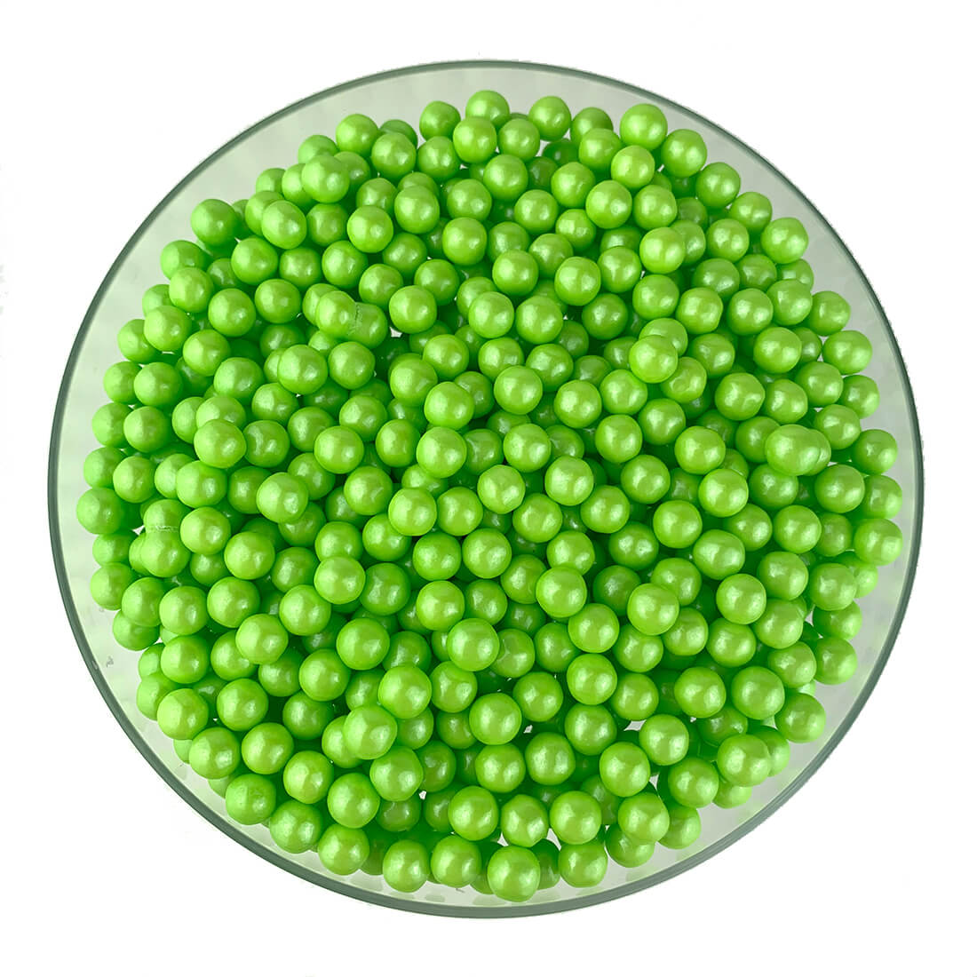 Shimmer Lime Green Pearls