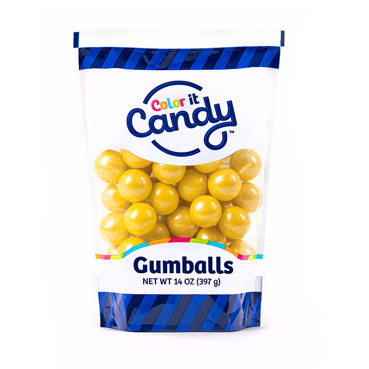 Shimmer Yellow Gumballs