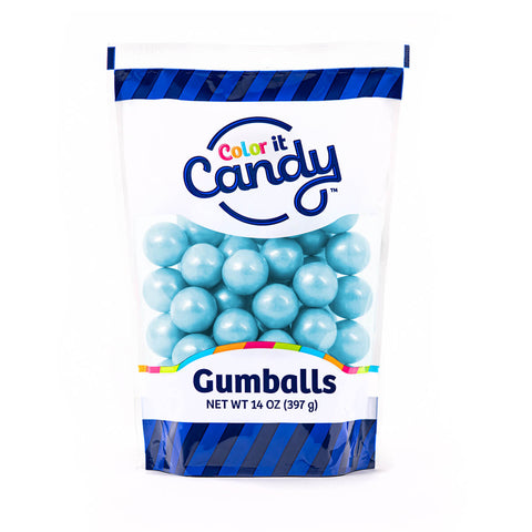 Shimmer Light Blue Gumballs