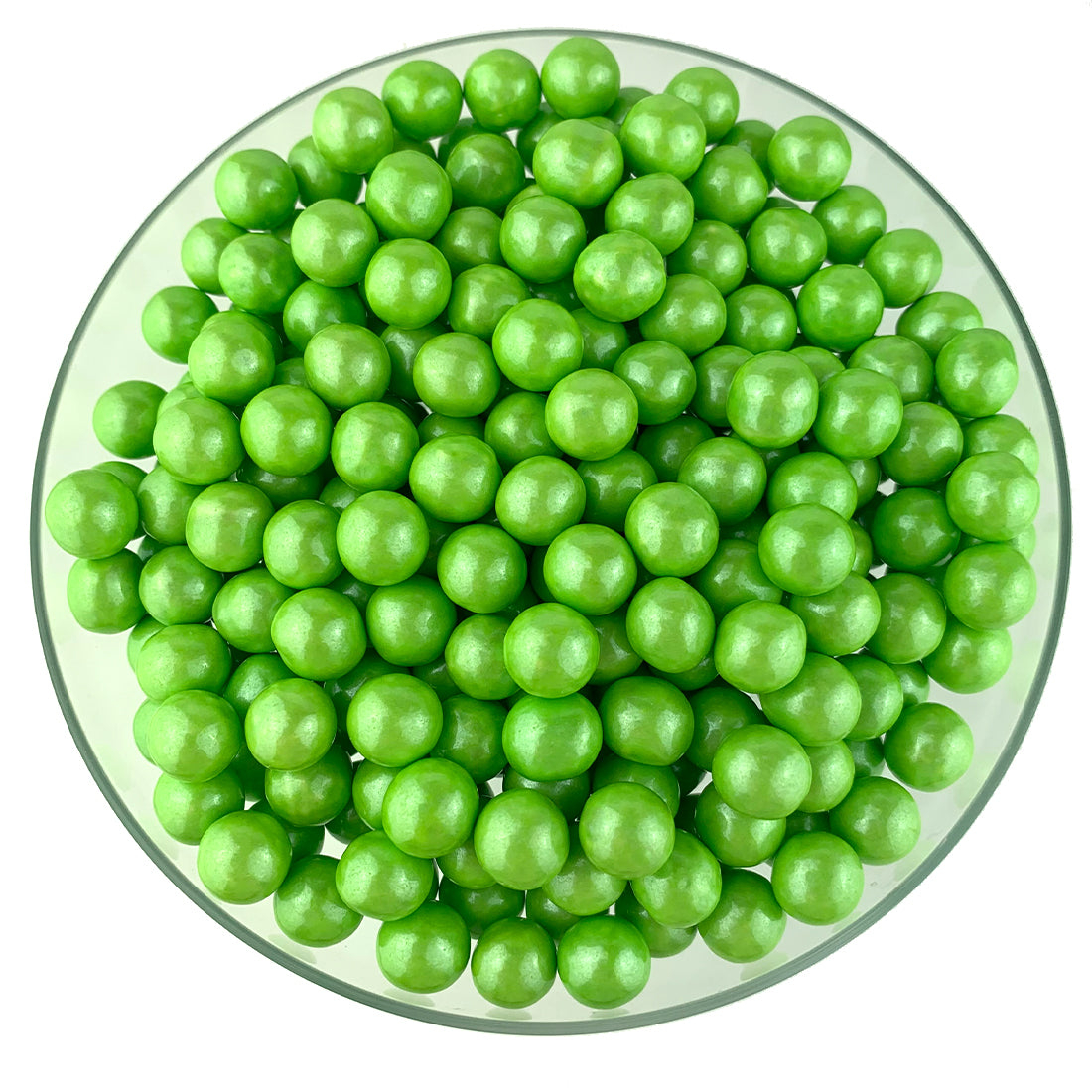 Shimmer Lime Green Sixlets
