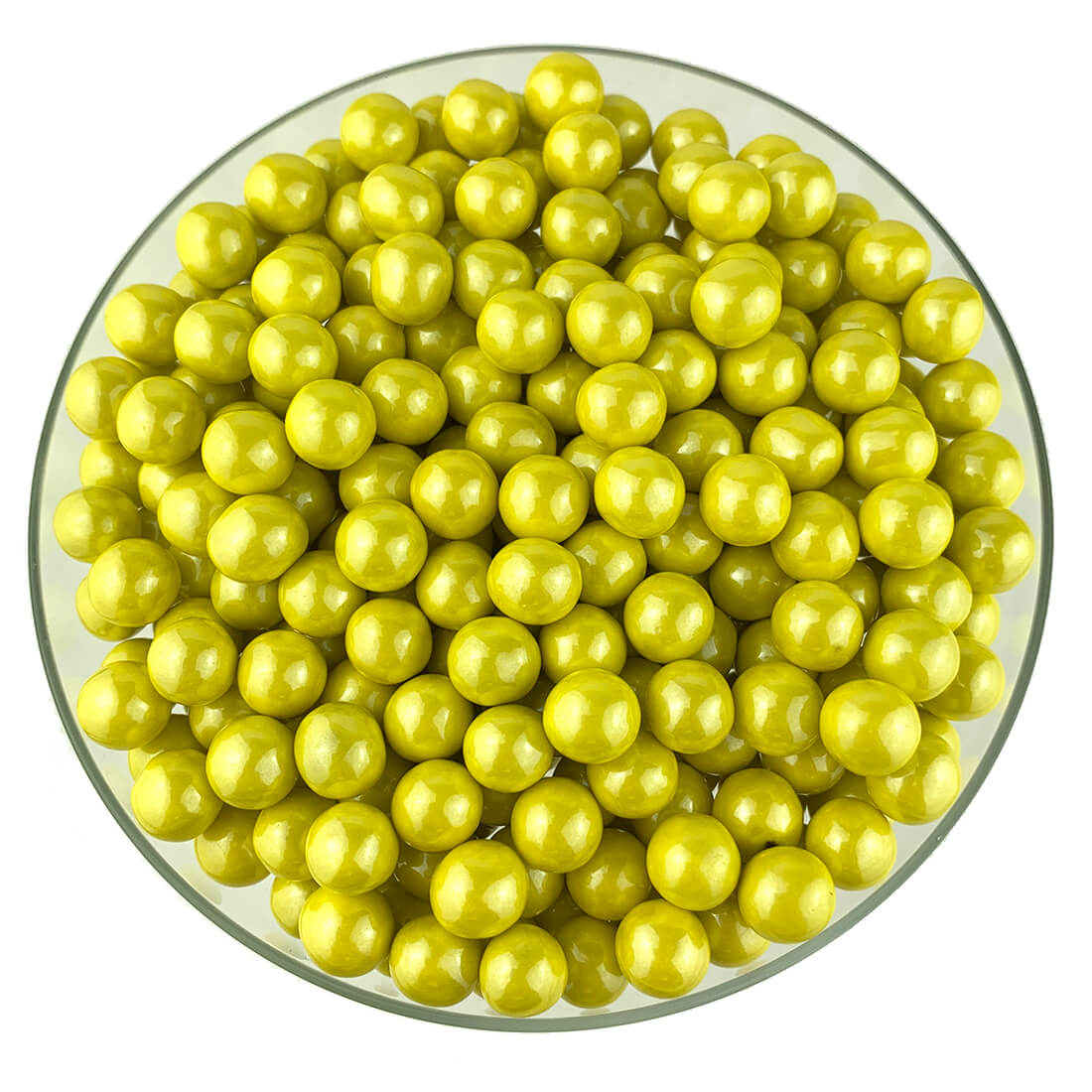 Shimmer Yellow Sixlets