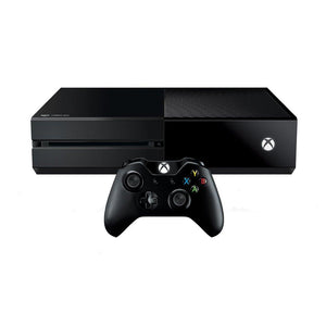Xbox One - 500GB - Black - With Controller - Grade B
