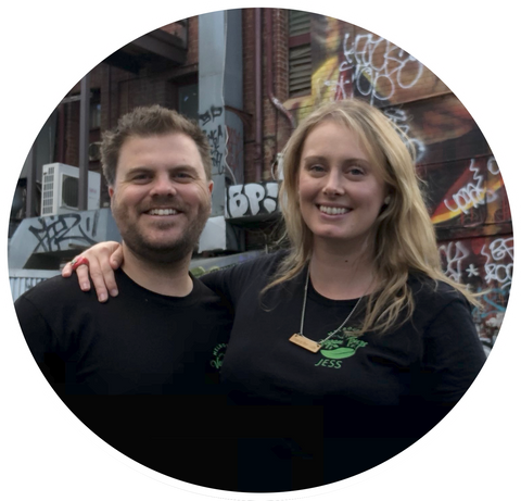 Jess and Dan - Melbourne Vegan Compass Founders