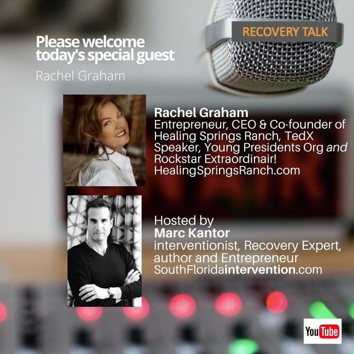 Recovery Talk Welcomes Rachel Graham from Trauma to Recovery