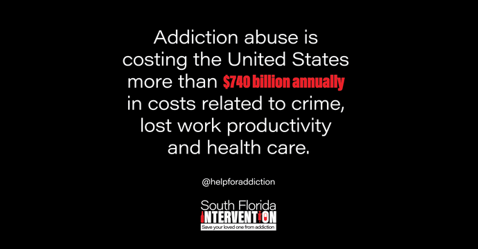 The Addiction Epidemic Costs the US $740 Billion Annually in Lost Work Productivity, Crime, and Healthcare