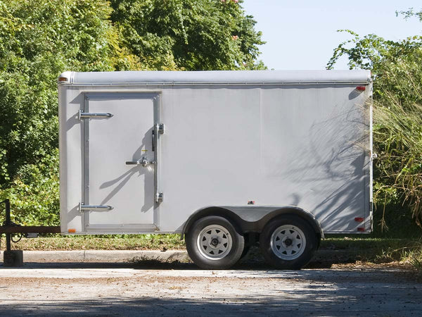 Image of a parked trailer.