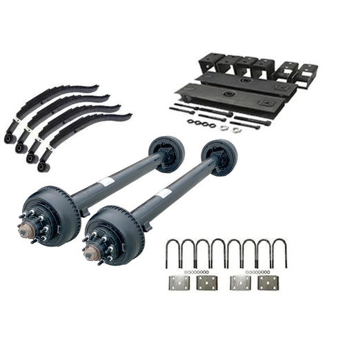 10,000 lb TK Tandem Axle Kit - 20K Capacity (Axle Series)