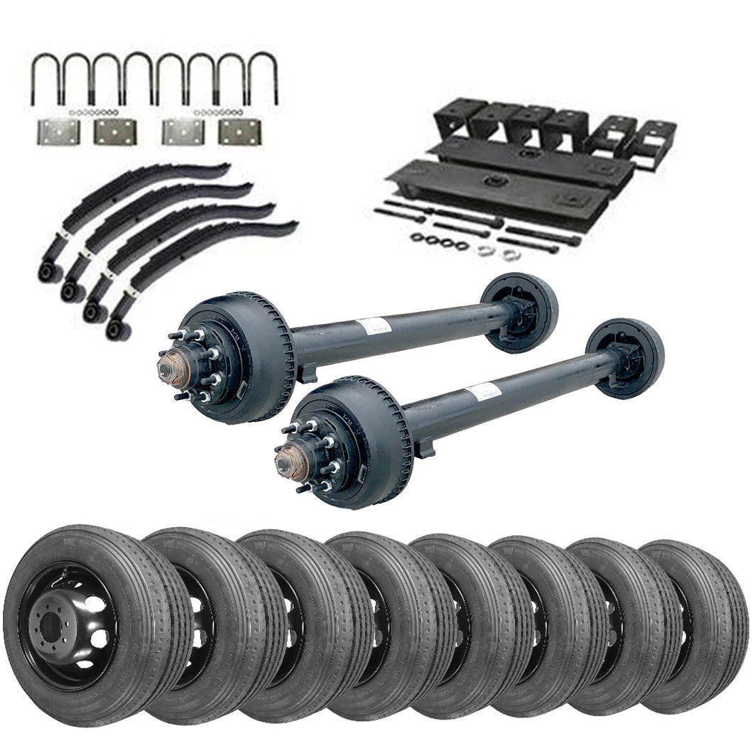 10k Tandem Axle TK Trailer kit - 20000 lb Capacity (Midnight Series)