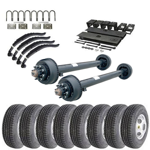 10k Tandem Axle TK Trailer kit - 20000 lb Capacity (Original Series)