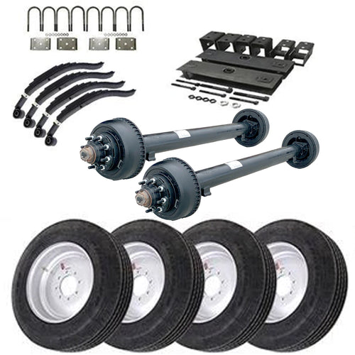 10k Tandem Axle TK Trailer kit - 20000 lb Capacity - Super Single (Original Series)