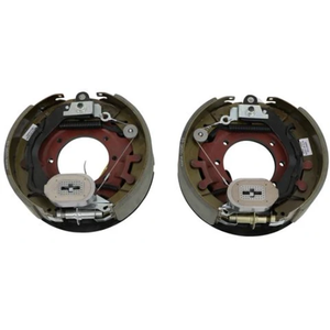 "10k General Duty Trailer Axle Brake Assemblies - 10000 lb Capacity - 12.25x3.375"" - Pair"