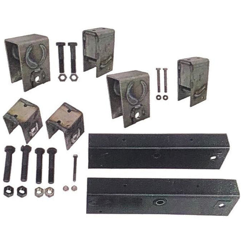 Trailer Tandem Slipper Suspension / Hanger Kit for 12000 - 15000 lb axles