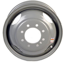 "16"" x 6"" - 8 Lug Silver Mod Solid Steel Trailer Wheel - 8 x 6.5"" Dual"