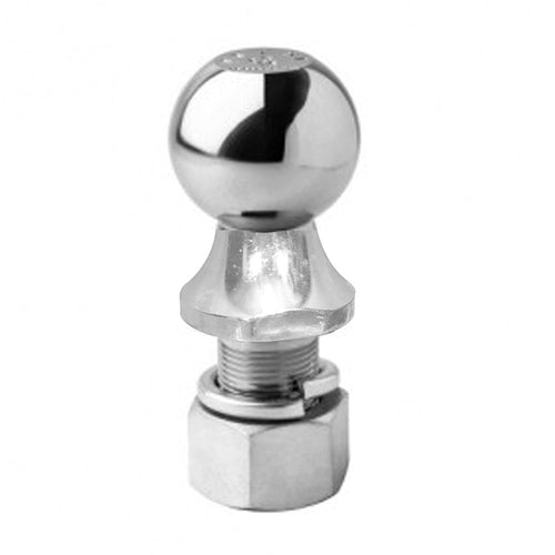 Chrome Finish Trailer Hitch Ball (2K Capacity) 1 7/8