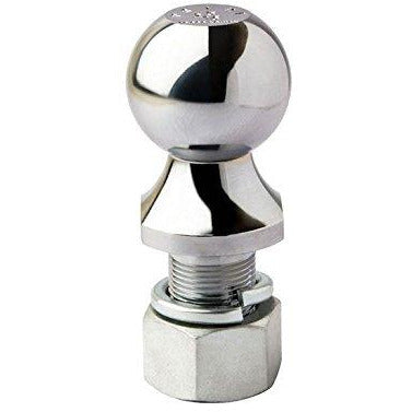 Trailer Tow Hitch Ball Long Shank 3.5k Capacity (PS-18046 Chrome or PS-18056 Zinc)