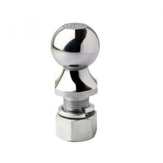 Chrome Finish Trailer Tow Hitch Ball (Capacity 6K) 2