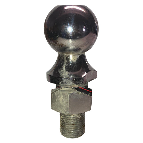Chrome finish Trailer Tow Hitch Ball (6k Capacity) 2