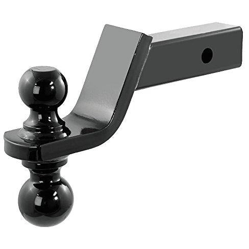 Reversible Dual Trailer Tow Ball-Mount 1-7/8