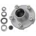 2K Pregreased Galvanized Hub Assembly 5x45