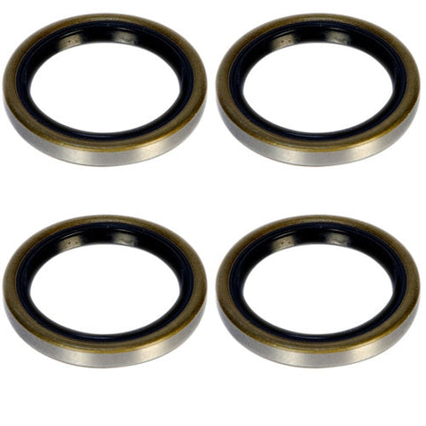 2k Trailer Axle Grease Seal 2000lb capacity 10 60 4 Pack